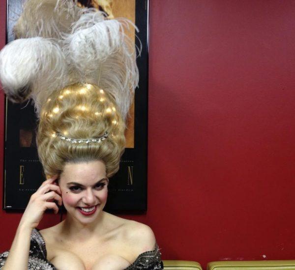 Queen wig, Opera Atelier