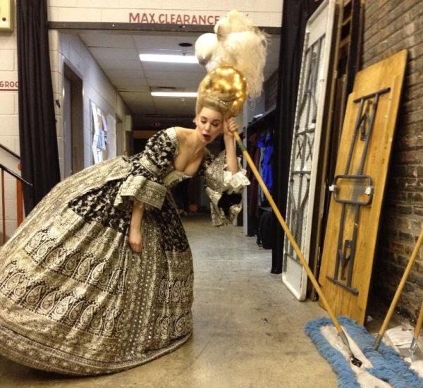 Backstage Magic Flute, Opera Atelier