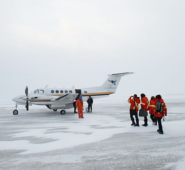 Day 2, COC school tour to Nunavik