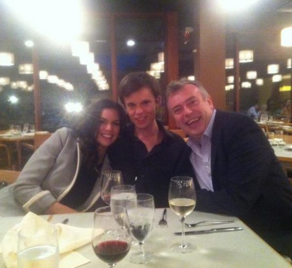 Ravinia Post Kiri with Bryana and Malcolm