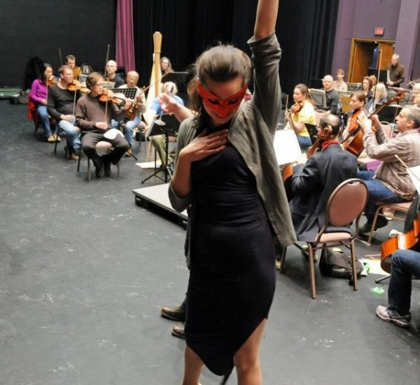 Rehearsal with Guelph Symphony, Die Fledermaus