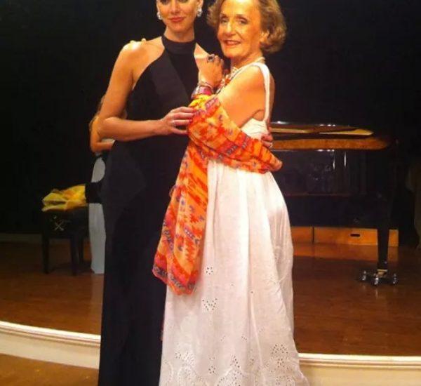 with Teacher, Marina Krilovici in Greece