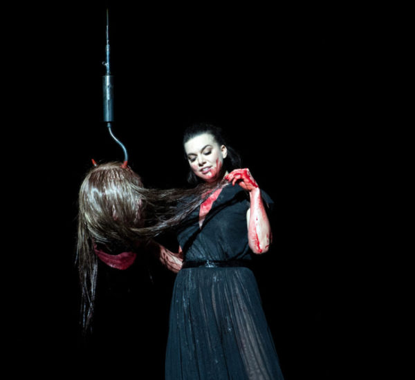 Salome, directed by Barrie Kosky at Oper Frankfurt – Photo by Monika Rittershaus